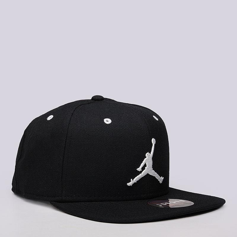Купить мужскую черную  кепка jordan jordan jumpman snapback в магазинах Streetball изображение - 2 картинки