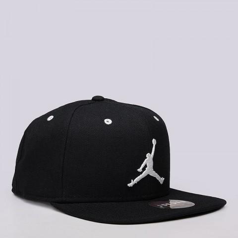 Купить мужскую черную  кепка jordan jordan jumpman snapback в магазинах Streetball - изображение 2 картинки