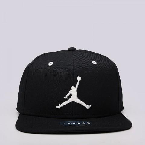 Купить мужскую черную  кепка jordan jordan jumpman snapback в магазинах Streetball - изображение 1 картинки