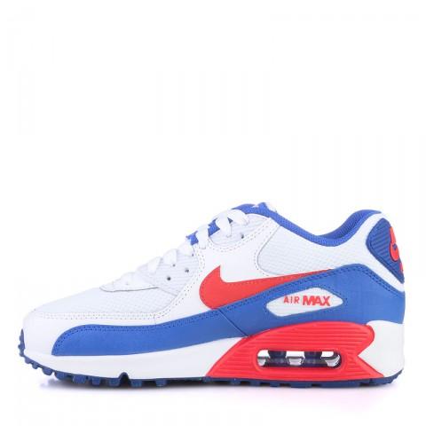 детские белые,синие,красные  кроссовки nike air max 90 mesh 724824-104 - цена, описание, фото 3