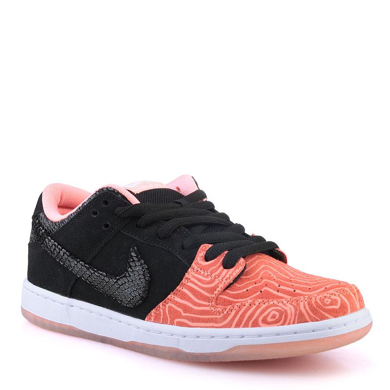 Кроссовки Nike SB Dunk Low Premium SBКроссовки lifestyle<br>Кожа,текстиль,резина<br><br>Цвет: Оранжевый<br>Размеры US: 8<br>Пол: Мужской