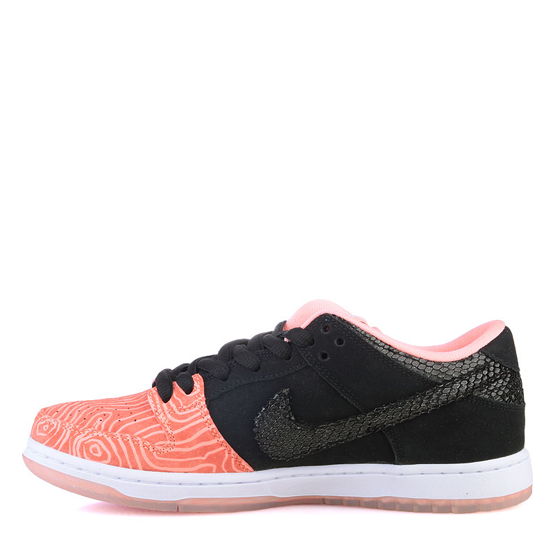 мужские оранжевые  кроссовки nike sb dunk low premium sb 313170-603 - цена, описание, фото 3