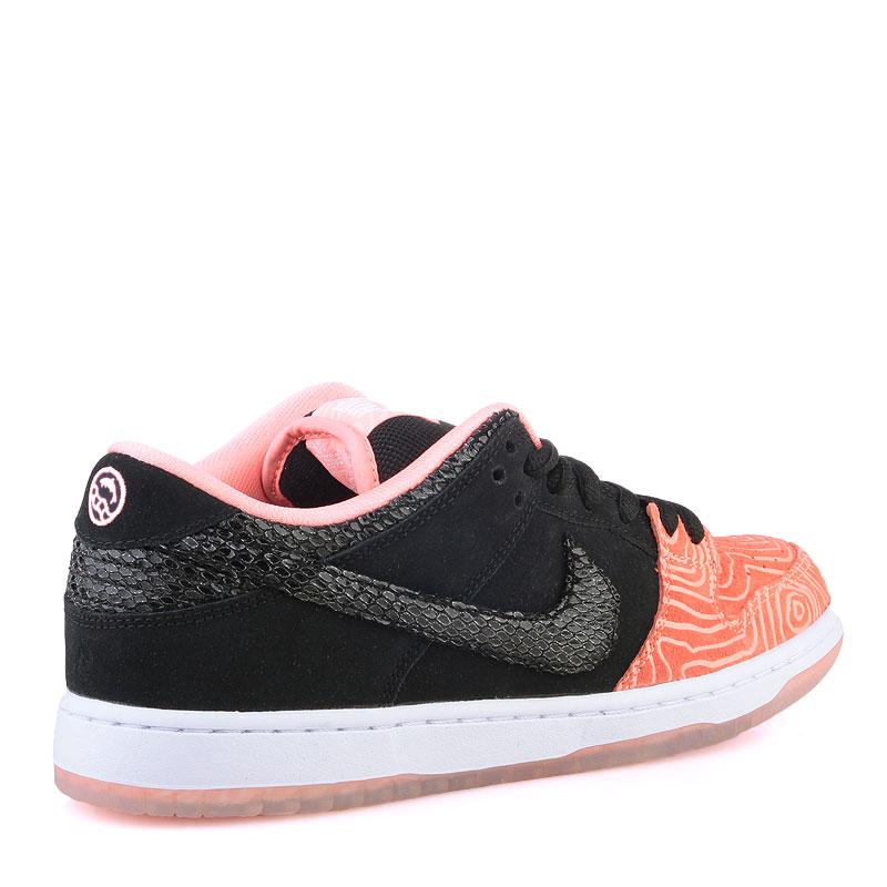 Купить мужские оранжевые  кроссовки nike sb dunk low premium sb в магазинах Streetball изображение - 2 картинки