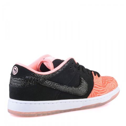 мужские оранжевые  кроссовки nike sb dunk low premium sb 313170-603 - цена, описание, фото 2