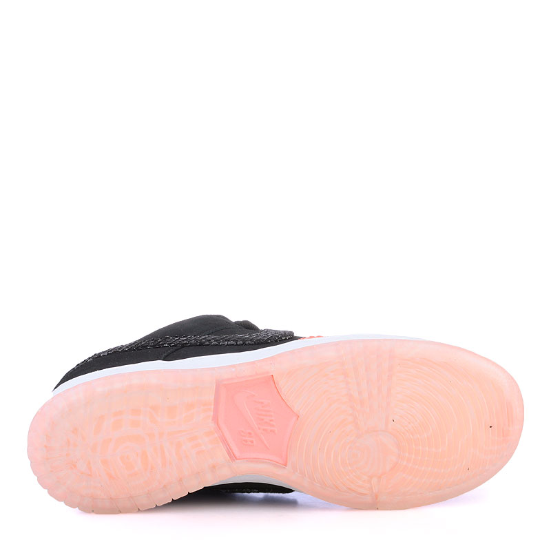 Купить мужские оранжевые  кроссовки nike sb dunk low premium sb в магазинах Streetball изображение - 4 картинки