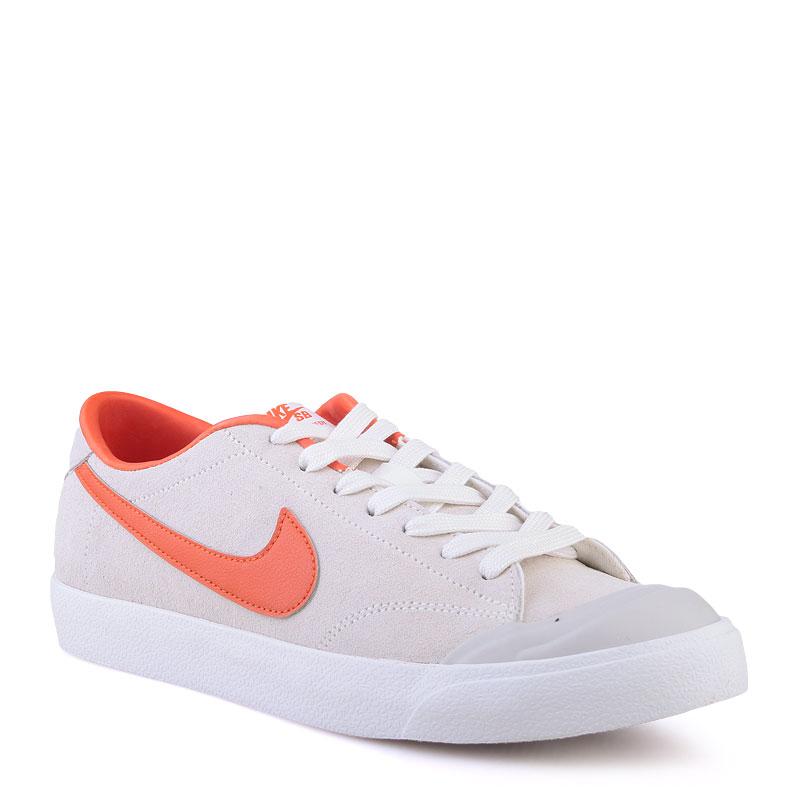 Кроссовки Nike SB Zoom All Court CkКроссовки lifestyle<br>Кожа,текстиль,резина<br><br>Цвет: Серый<br>Размеры US: 8;12<br>Пол: Мужской