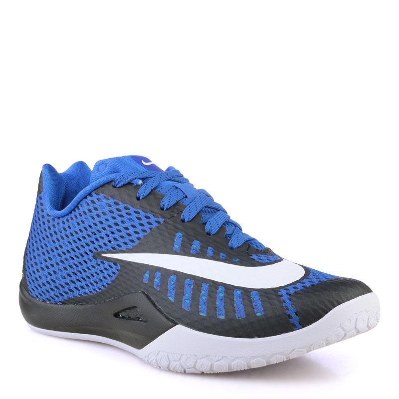 Купить мужские синие  кроссовки nike hyperlive в магазинах Streetball изображение - 1 картинки