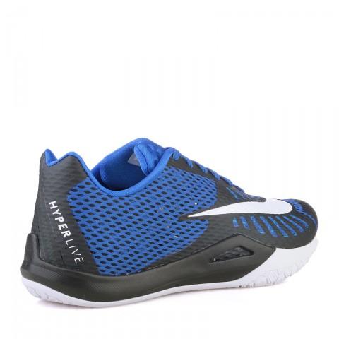 Купить мужские синие  кроссовки nike hyperlive в магазинах Streetball - изображение 2 картинки