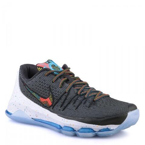мужские черные,синие,белые  кроссовки nike kd viii 824420-090 - цена, описание, фото 1
