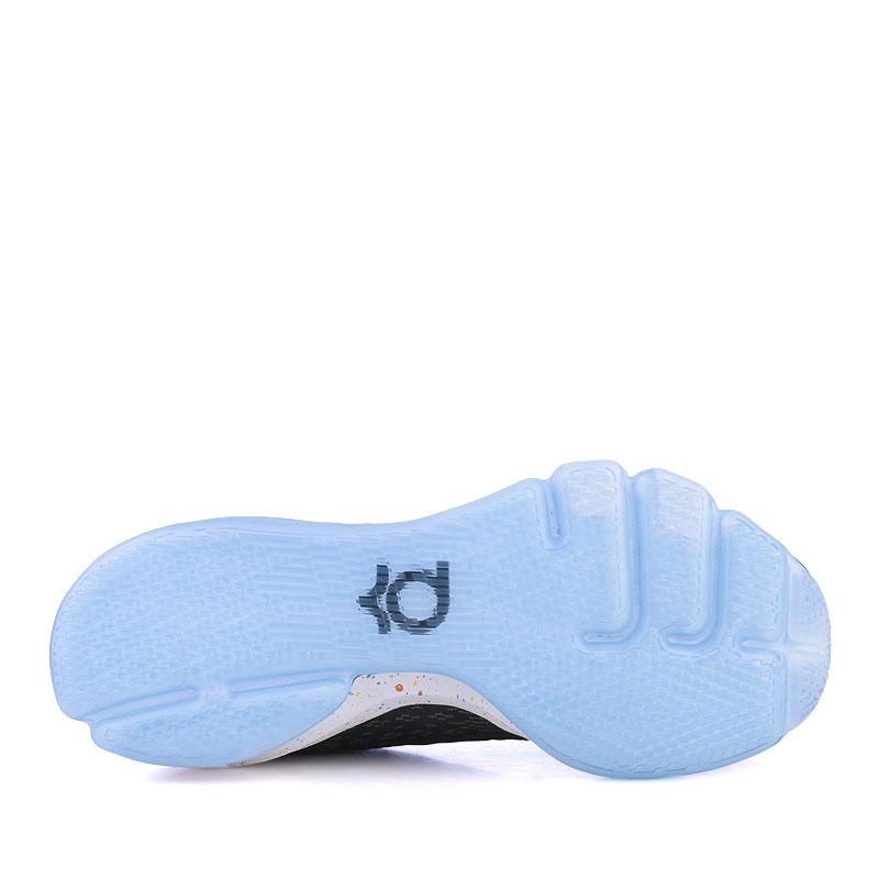 мужские черные,синие,белые  кроссовки nike kd viii 824420-090 - цена, описание, фото 4