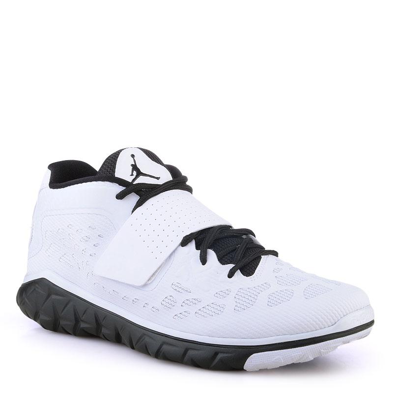 Купить мужские белые  кроссовки air jordan flight flex trainer 2 в магазинах Streetball изображение - 1 картинки