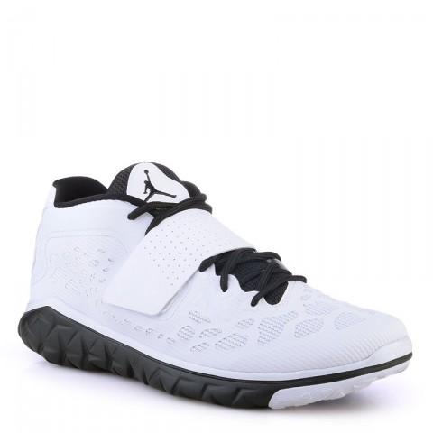 Купить мужские белые  кроссовки air jordan flight flex trainer 2 в магазинах Streetball - изображение 1 картинки