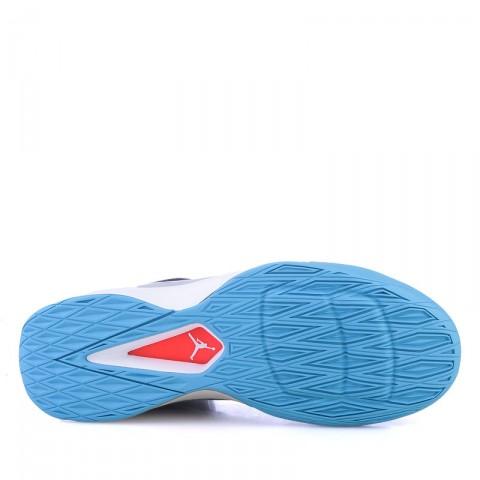 Купить мужские синие,серые ,голубые  кроссовки air jordan rising high в магазинах Streetball - изображение 4 картинки