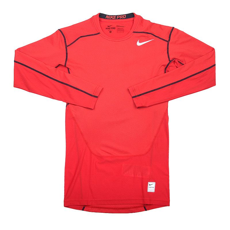 Лонгслив Nike Hypercool Comp LSКомпрессионное белье<br>Полиэстер, эластан<br><br>Цвет: Красный<br>Размеры US: XL<br>Пол: Мужской