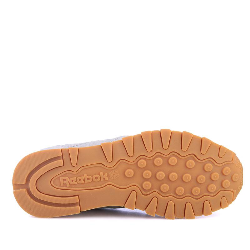 Купить мужские серые  кроссовки reebok classic leather x kendrick lamar в магазинах Streetball изображение - 4 картинки