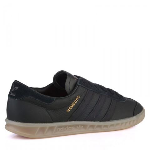 Купить мужские черные  кроссовки adidas originals hamburg в магазинах Streetball - изображение 2 картинки
