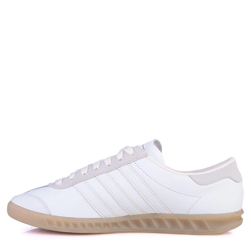мужские белые  кроссовки adidas originals hamburg S74836 - цена, описание, фото 3