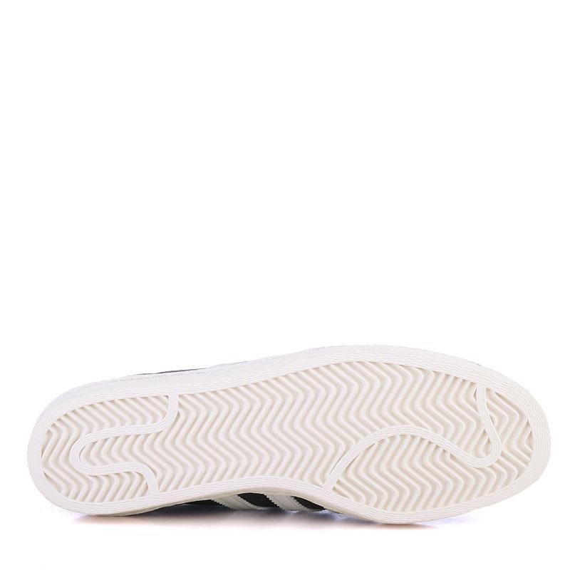 Купить мужские белые  кроссовки adidas superstar 80s в магазинах Streetball изображение - 4 картинки