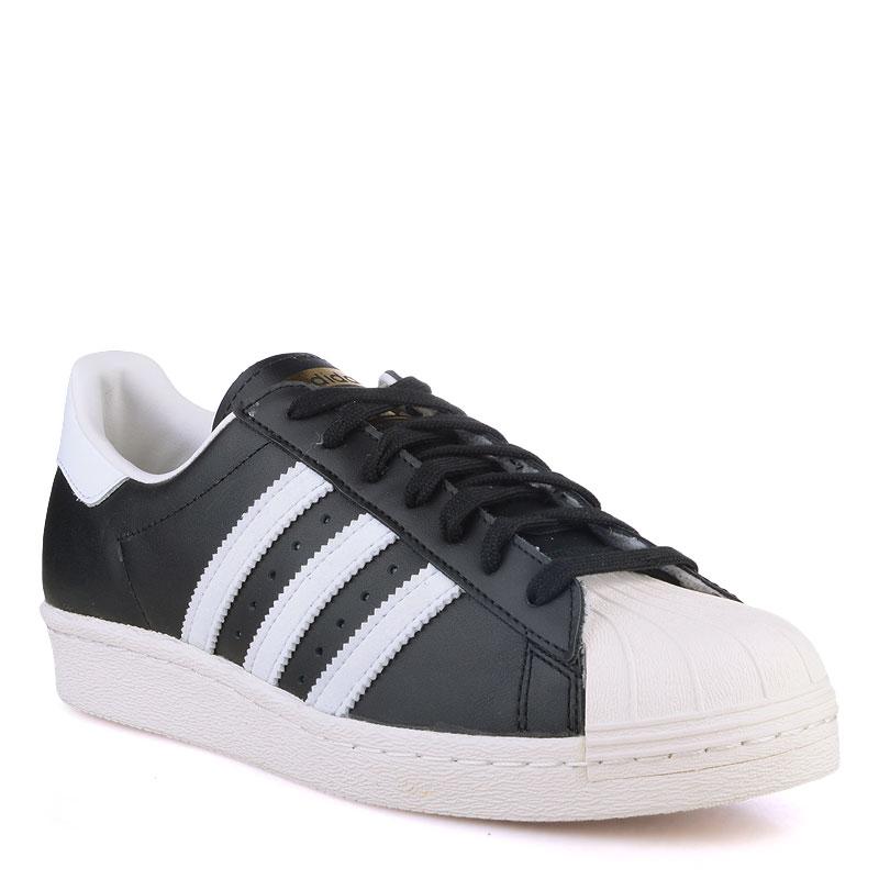 Кроссовки adidas Originals Superstar 80sКроссовки lifestyle<br>Кожа,текстиль,резина<br><br>Цвет: Белый<br>Размеры UK: 10.5