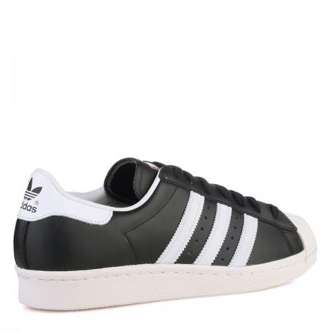Купить мужские белые  кроссовки adidas superstar 80s в магазинах Streetball - изображение 2 картинки