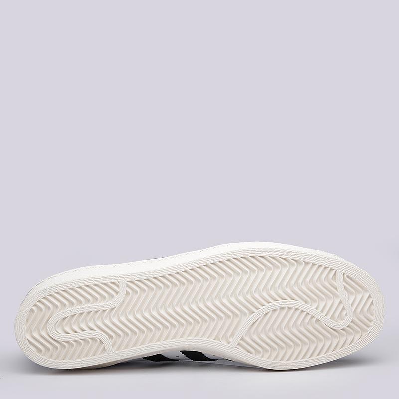 мужские белые  кроссовки adidas superstar 80s G61070 - цена, описание, фото 4