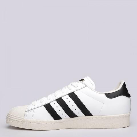 мужские белые  кроссовки adidas superstar 80s G61070 - цена, описание, фото 5