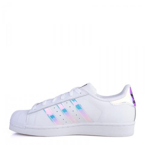 Купить детские белые  кроссовки adidas superstar j в магазинах Streetball - изображение 3 картинки