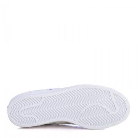Купить детские белые  кроссовки adidas superstar j в магазинах Streetball - изображение 4 картинки