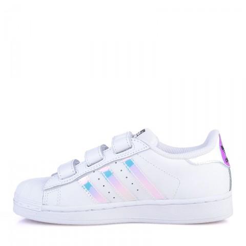 детские белые  кроссовки adidas superstar cf AQ6279 - цена, описание, фото 3