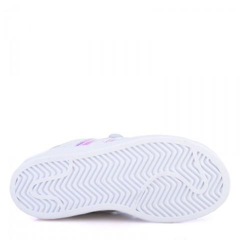 детские белые  кроссовки adidas superstar cf AQ6279 - цена, описание, фото 4
