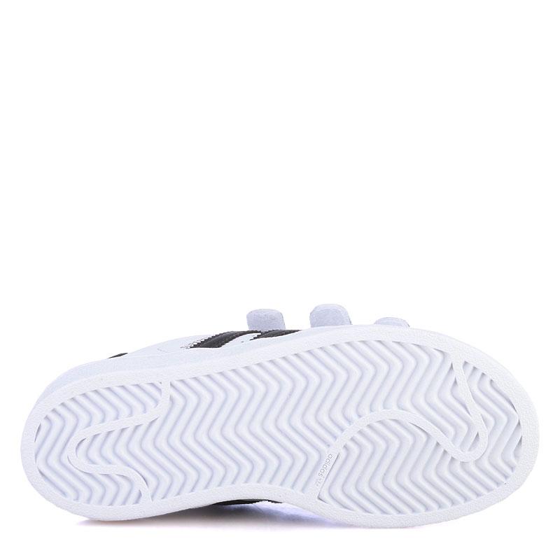 aabde761 детские белые кроссовки adidas superstar B26070 - цена, описание, фото 4