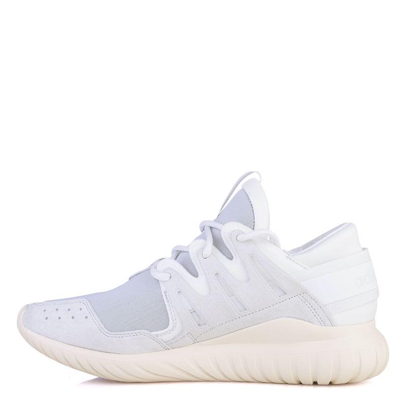 мужские белые  кроссовки adidas tubular nova S74821 - цена, описание, фото 3