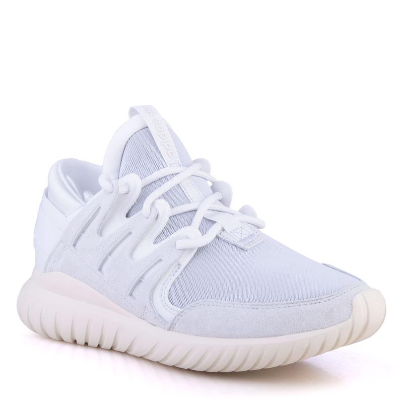 мужские белые  кроссовки adidas tubular nova S74821 - цена, описание, фото 1