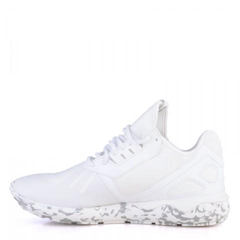 мужские белые  кроссовки adidas tubular runner F37531 - цена, описание, фото 3