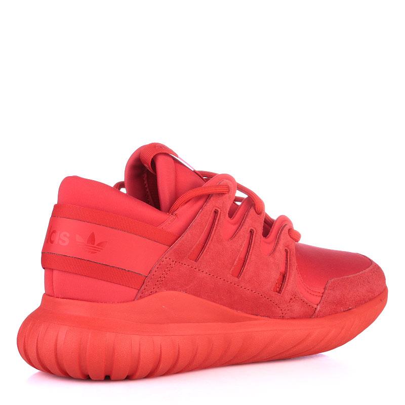 мужские красные  кроссовки adidas tubular nova S74819 - цена, описание, фото 2