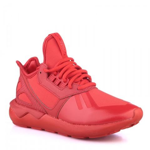 женские красные  кроссовки adidas tubular runner w S78935 - цена, описание, фото 1