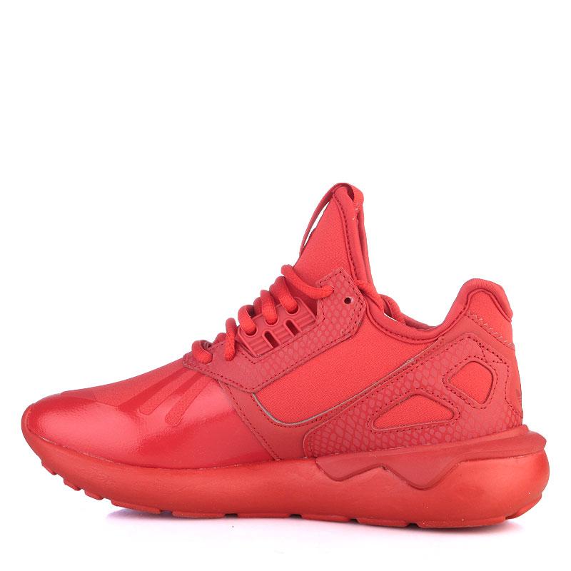 женские красные  кроссовки adidas tubular runner w S78935 - цена, описание, фото 3