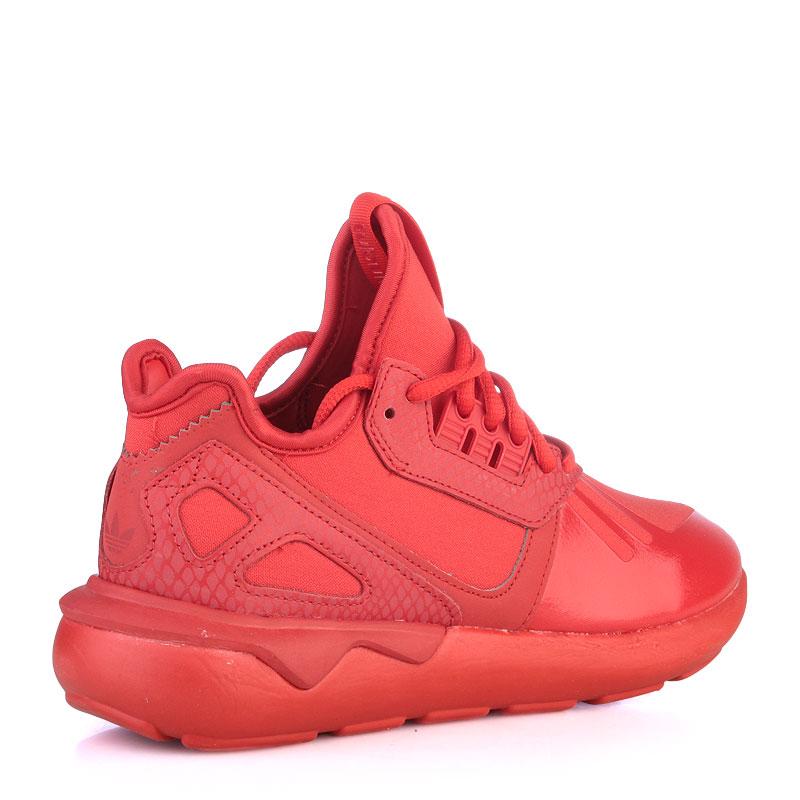 женские красные  кроссовки adidas tubular runner w S78935 - цена, описание, фото 2