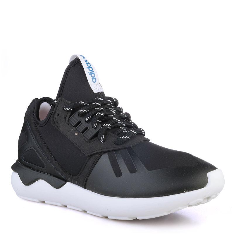 Купить мужские черные  кроссовки adidas tubular в магазинах Streetball изображение - 1 картинки