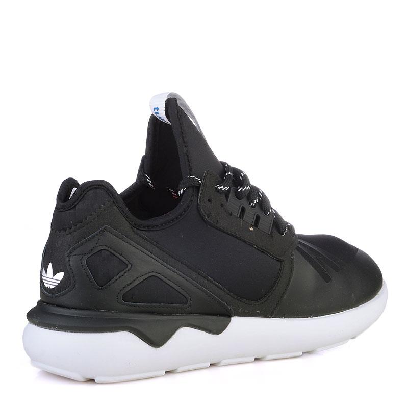Купить мужские черные  кроссовки adidas tubular в магазинах Streetball изображение - 2 картинки