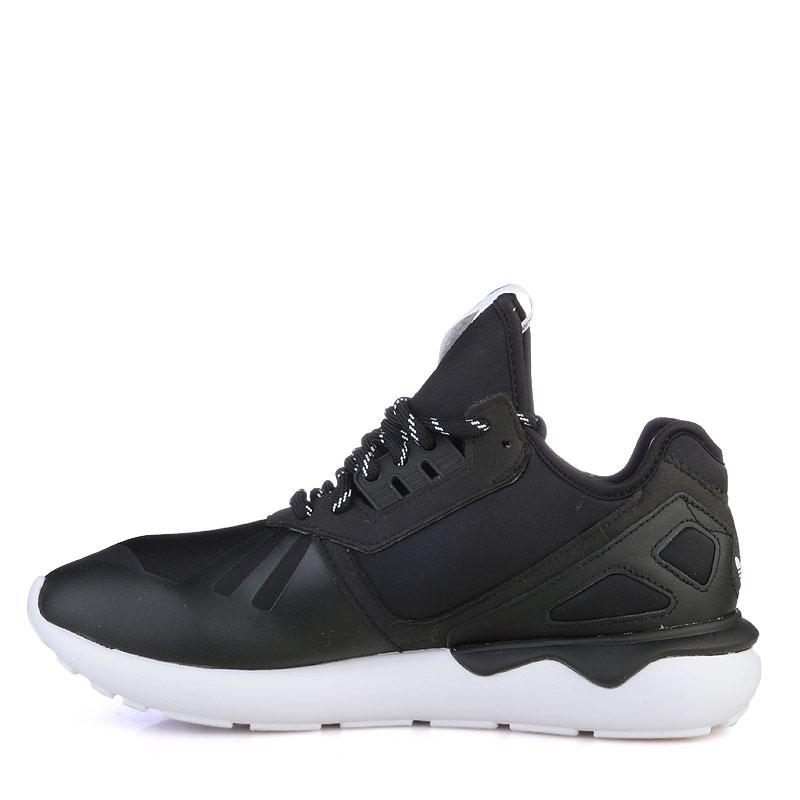 Купить мужские черные  кроссовки adidas tubular в магазинах Streetball изображение - 3 картинки