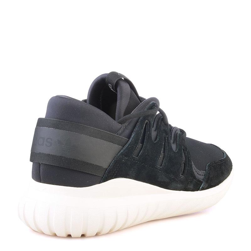 Купить мужские черные  кроссовки adidas tubular nova в магазинах Streetball изображение - 2 картинки