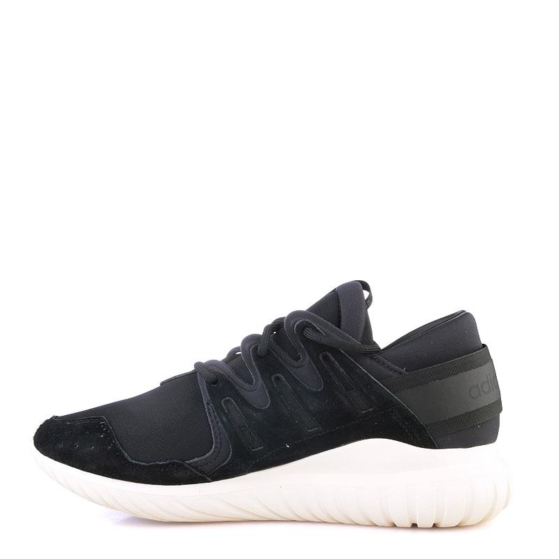 Купить мужские черные  кроссовки adidas tubular nova в магазинах Streetball изображение - 3 картинки