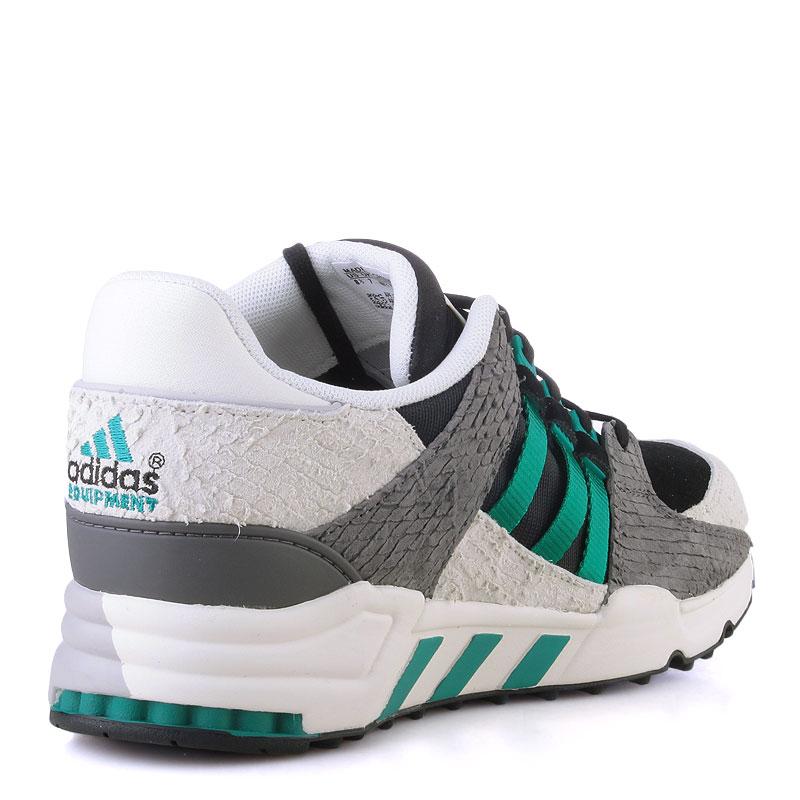 Купить женские серые,белые,зеленые  кроссовки adidas equipment support 93 в магазинах Streetball изображение - 2 картинки