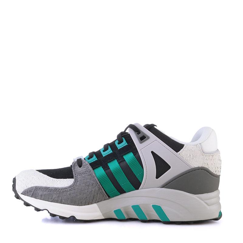 Купить женские серые,белые,зеленые  кроссовки adidas equipment support 93 в магазинах Streetball изображение - 3 картинки