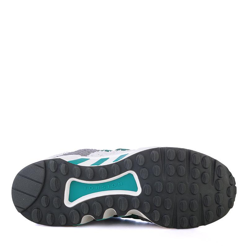 Купить женские серые,белые,зеленые  кроссовки adidas equipment support 93 в магазинах Streetball изображение - 4 картинки