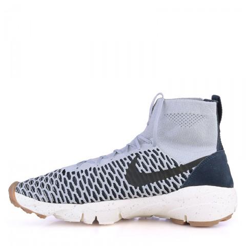 мужские серые  кроссовки nike footscape magista fly 816560-001 - цена, описание, фото 3