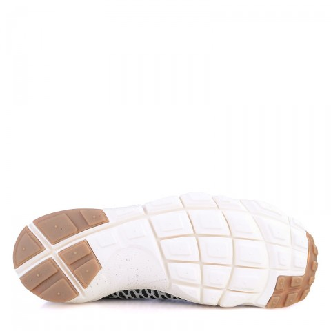мужские серые  кроссовки nike footscape magista fly 816560-001 - цена, описание, фото 4