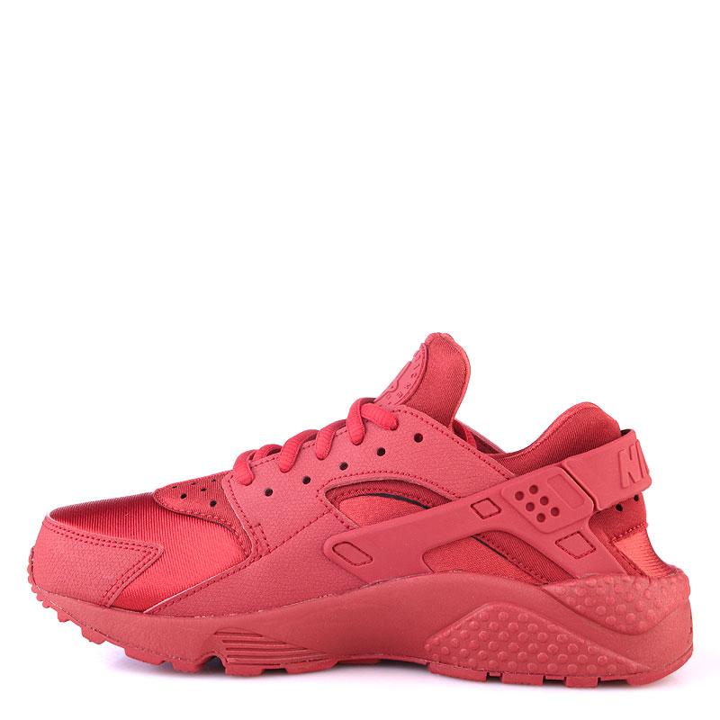 женские красные  кроссовки nike wmns air huarache run 634835-601 - цена, описание, фото 3
