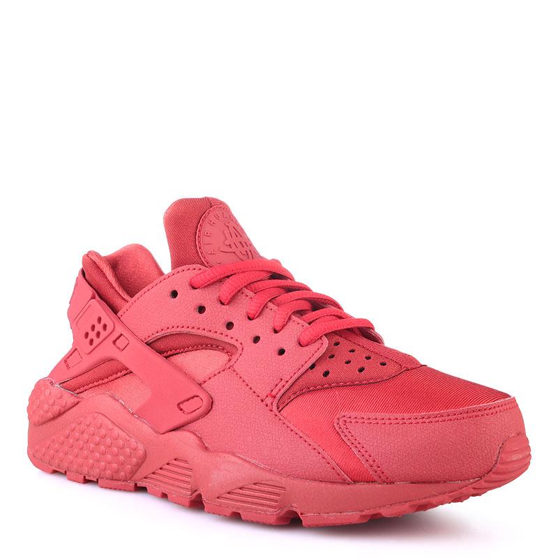 женские красные  кроссовки nike wmns air huarache run 634835-601 - цена, описание, фото 1
